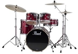 Pearl Export Fusion na 20 -  Red Wine (#91) + Sabian