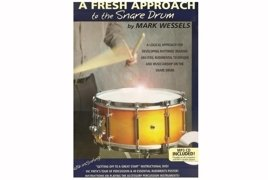 Mark Wessels - A Fresh Approach to the Snare Drum - książka + 1 CD + 1 DVD