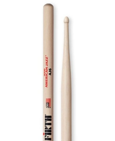 Vic Firth AJ6 (American Jazz Hickory)