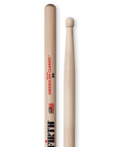 Vic Firth 3A (American Classic Hickory)