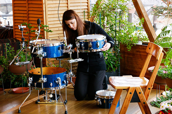 tama silwerstar cocktail jam set