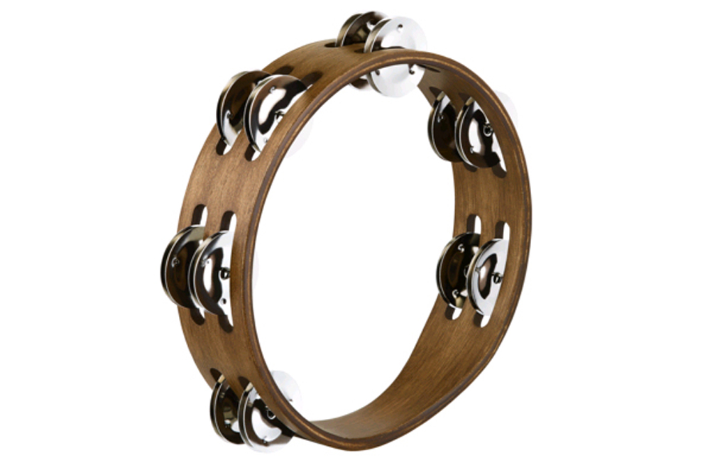 Meinl Compact Wood Tambourine CTA2WB