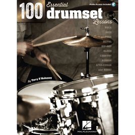 100 Essential  Drumset Lessons by Terry O'Mahoney