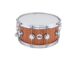 DW Collectors Mahogany/Cherry 14x6,5 Natural Mahogany