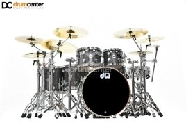 DW Collectors - Maple/Mahogany - Finish Ply Black Galaxy