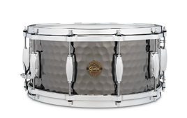 Gretsch Full Range Hammered Black Steel 14x6,5
