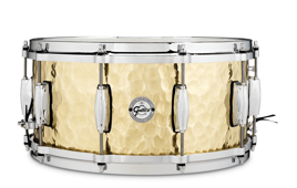 Gretsch Full Range Hammered Brass Mosiądz 14x6,5