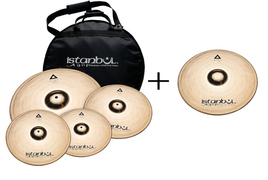"Istanbul Agop XIST Set Brilliant + crash 18"" + Hardcase"