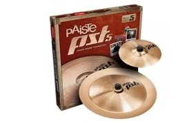Paiste PST5 Set Effect splash 10 + china 18