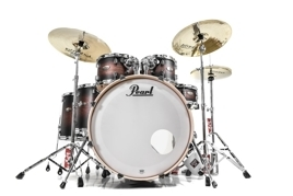 Pearl Decade Maple Satin Brown Burst + Floor Tom 14