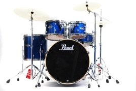 Pearl Export Standard - Electric Blue (#702) + Sabian