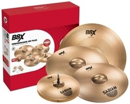 Sabian B8X Performance Set + Crash 18 FREE