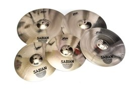 Sabian XSR Set + FREE Crash 18