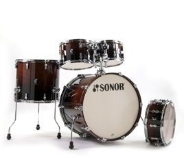 Sonor AQ2 Stage Set Shell Brown Fade
