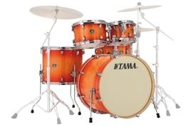 Tama Superstar Classic - Tangerine Lacquer Burst (shell set)