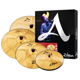 Zildjian A Custom Set 14 16 20 + Crash 18
