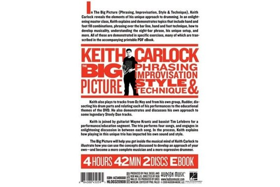 Keith Carlock - The Big Picture - 2 DVD