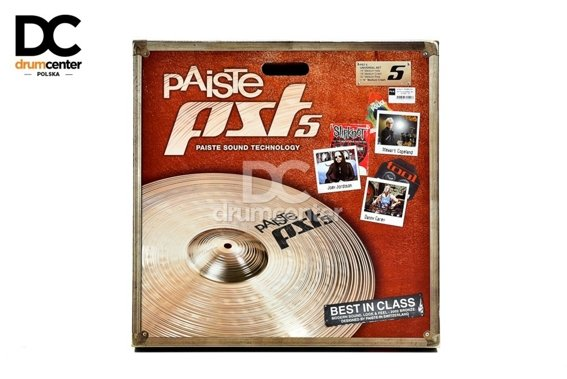 Paiste PST5 Universal Set  14 16 20 + Crash 18