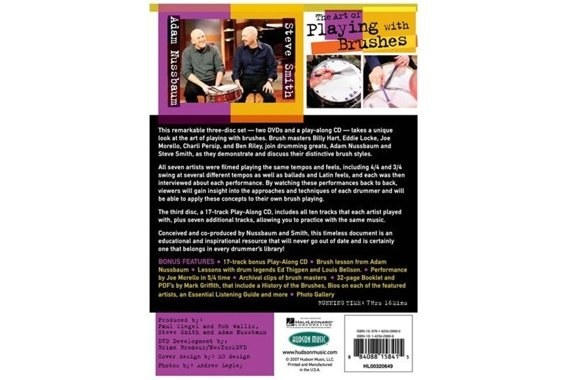 The Art of Playing with Brushes - 2 DVD + 1 CD