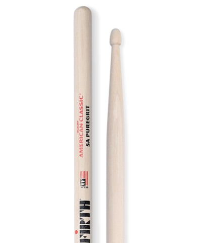 Vic Firth 5A PURE GRIT (American Classic Hickory)