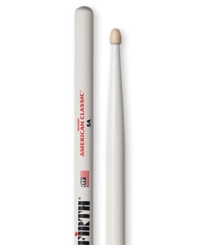 Vic Firth 5A White (American Classic Hickory)