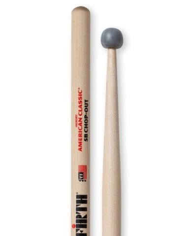 Vic Firth 5B CO CHOP-OUT (American Classic Hickory)