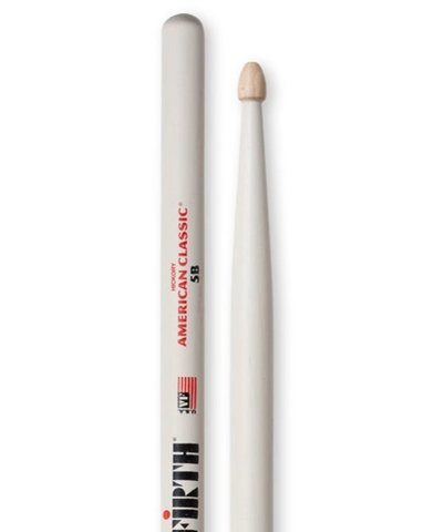 Vic Firth 5B White (American Classic Hickory)